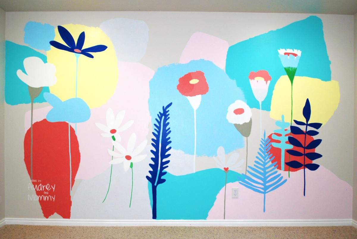 Kids Playroom – Floral Wall Art