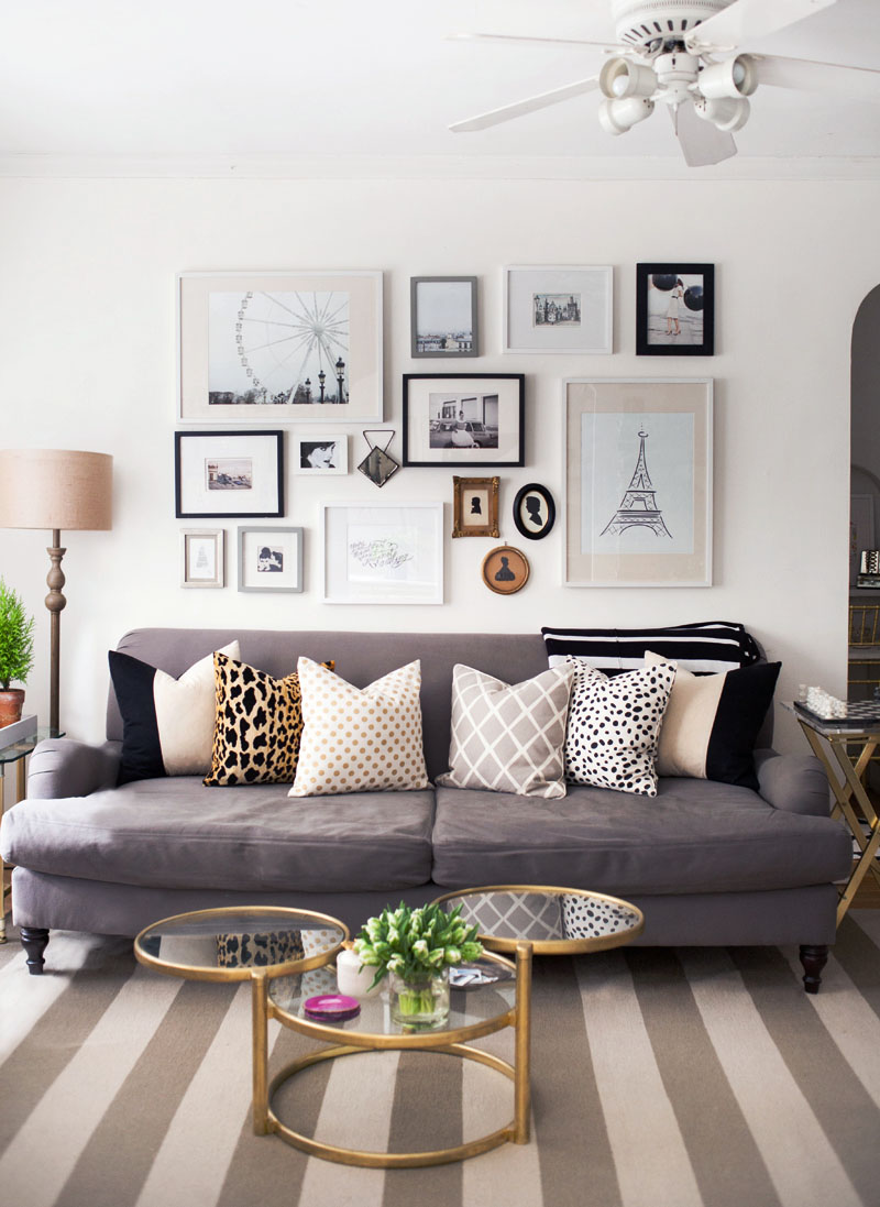Favorite Gallery Walls - and how to create one yourself!