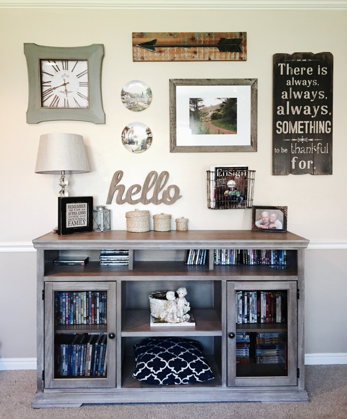 Gallery Wall Lovin' – How to Make One for Yourself
