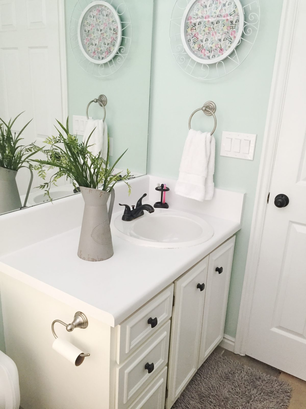 Painted Countertop Review and Tutorial