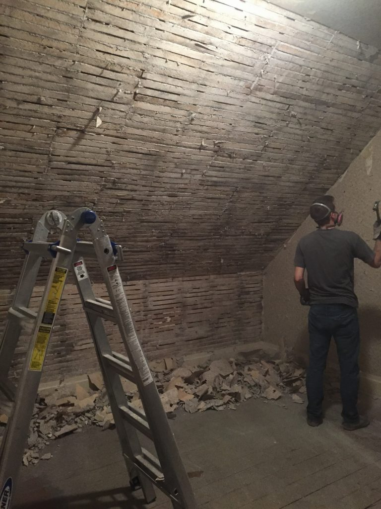 Removing Lath and Plaster Walls