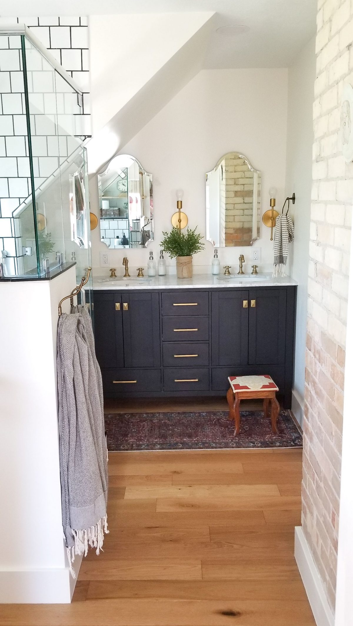 Attic Master Bathroom Reveal